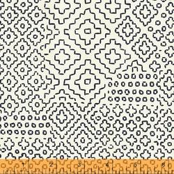 Stitch Sampler in Ivory