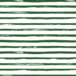 Watercolor Stripes in Evergreen