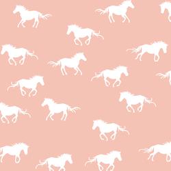 Horse Silhouette in Petal
