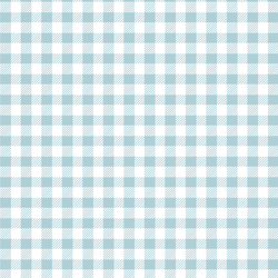 Small Buffalo Plaid in Powder Blue