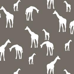 Giraffe Silhouette in Stone