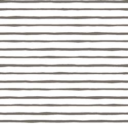 Artisan Stripe in Stone on White