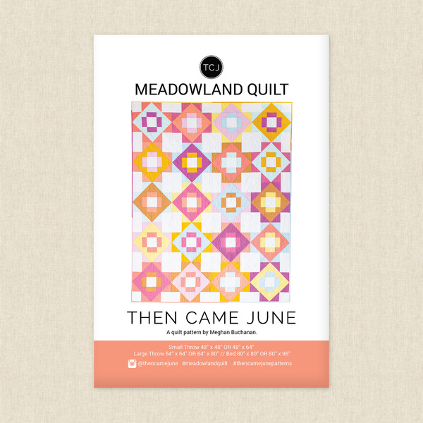Meadowland Quilt Sewing Pattern
