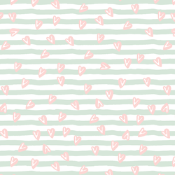Sweetened Stripes in Mint Swirl