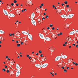 Sprig in Red