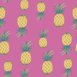 Pineapple Punch in Fuchsia
