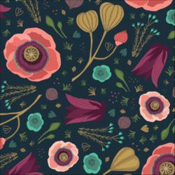 Dark Blooms in Multi