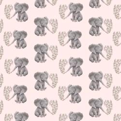 Little Baby Elephant in Soft Blush