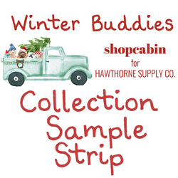 Winter Buddies Sample Strip