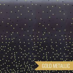 Ombre Confetti Metallic in Onyx