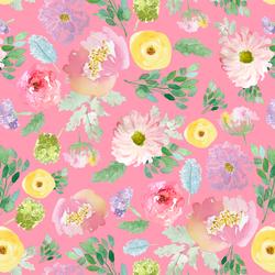 Spring Blooms in Gerbera Pink