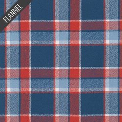 Mammoth Day Tartan Plaid Flannel in Americana