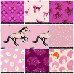 Darlings Fat Quarter Bundle in Pink