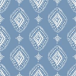Geometric in Balsam Blue