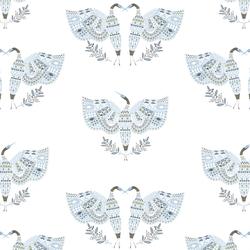 Anhinga in White