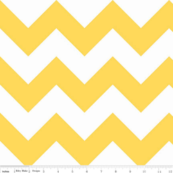 Large Chevron in Yellow