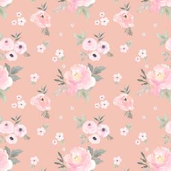 Small Sweet Blush Roses in Petal