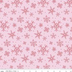 Snowflakes in Petal Pink