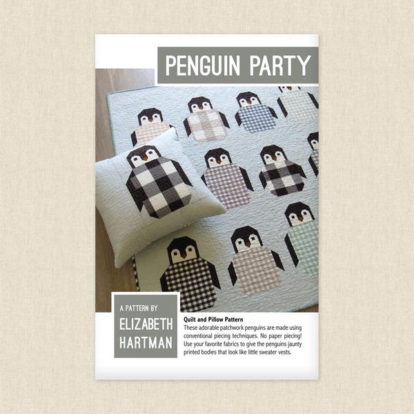 Elizabeth Hartman EH041 Penguin Party Pattern