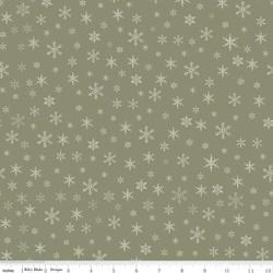Snowflakes in Sage