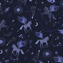 Astro Pegasus in Midnight Blue