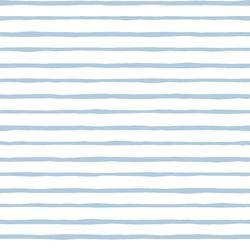 Artisan Stripe in Sky on White