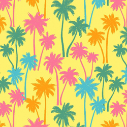 Palm Trees in Banana