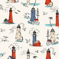 Lighthouse in Bright