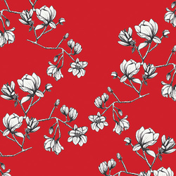 Magnolia Study in Silkroad