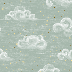 Starry Clouds in Sea Salt
