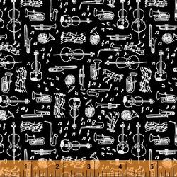 Instruments in Black