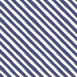 Rogue Stripe in Indigo