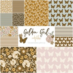 Golden Girl Fat Quarter Bundle