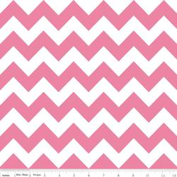 Wideback 107/108 Inch Medium Chevron in Hot Pink