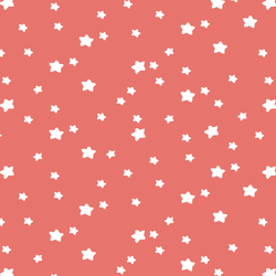 Star Light in Living Coral