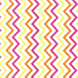 Mini Chic Chevron in Sherbert