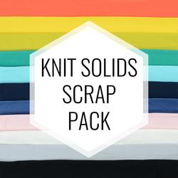 Knit Solids Scrap Pack