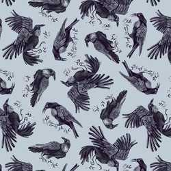 Ravens in Crystal