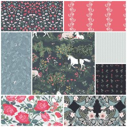 Picturesque Fat Quarter Bundle in Vivid Artistry