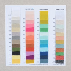 Cirrus Solid Color Card Panel in Swatches