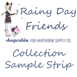 Rainy Day Friends Sample Strip
