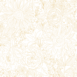Paperie in Golden Sand on White
