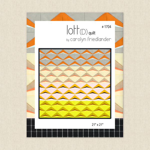 Lott(D) Quilt Sewing Pattern