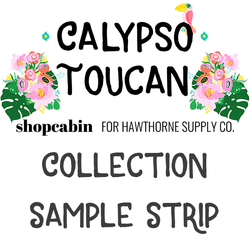Calypso Toucan Sample Strip