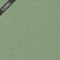 Shetland Dot Flannel in Sage