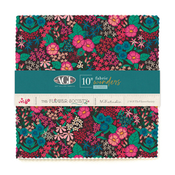 "The Flower Society 10"" Fabric Wonders"