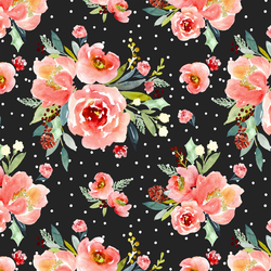 Snowberry Floral in Cheer
