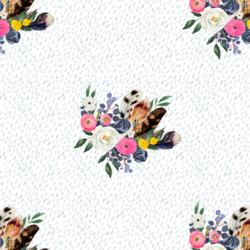 Western Bouquet in Spring Rain