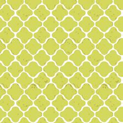 Latticework Verdant in Lime