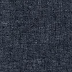 Cotton Linen Chambray in Indigo Washed